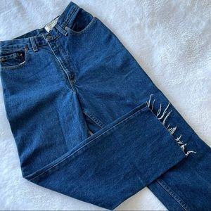 Vintage Levi's high waist jeans crop Sz 25 (ш11)